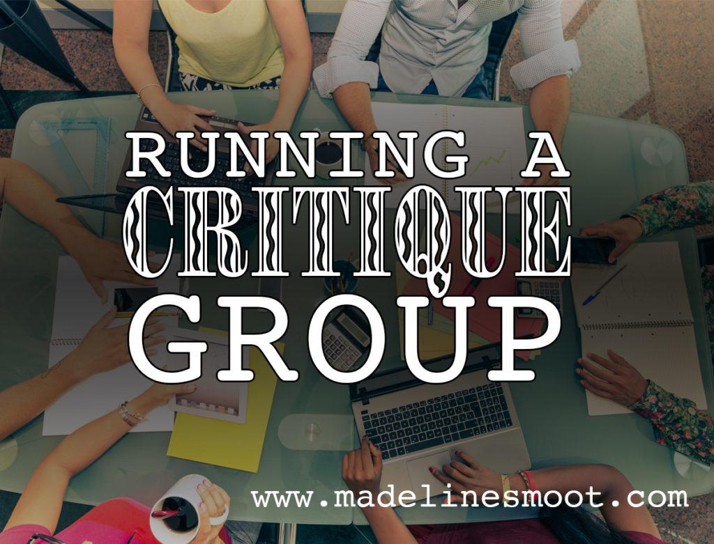 Running a Critique Group